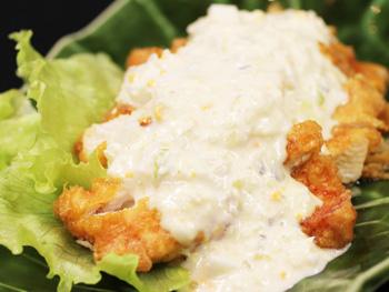 宮崎名物 チキン南蛮<br>Miyazaki's Famous Chicken Namban
