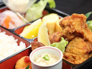 宮崎鶏の唐揚げ御膳<br>Fried Miyazaki Chicken Set
