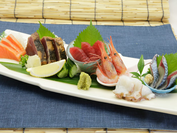 お刺身の盛合せ 【5種盛】<br>Assorted Sashimi 【5 types of fish】
