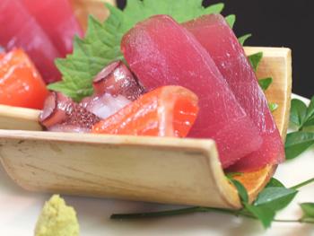 お刺身の盛合せ 【3種盛】<br>Assorted Sashimi 【3 types of fish】