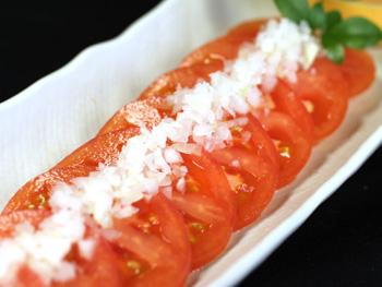 冷しトマトスライス<br>Chilled Tomato Slices