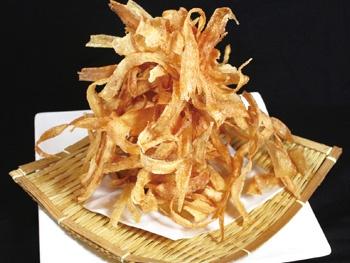 名物ごぼうチップス<br>Burdock Chips