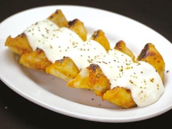 とろ~りチーズの揚げ餃子(5ヶ)<br>Fried Gyoza with Cheese