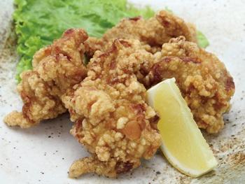 若鶏唐揚げ(4ヶ)<br>Deep-fried Chicken