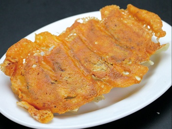 羽根付きチーズ餃子(5ヶ)<br>Cheese feathered Gyoza