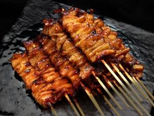 極皮(1本)<br>Premium Torikawa -Grilled Chicken Skin Skewers-