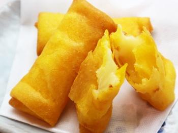 3種のチーズロール揚げ