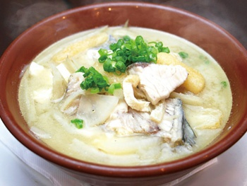 豪快!アラ汁<br>Fishhead soup