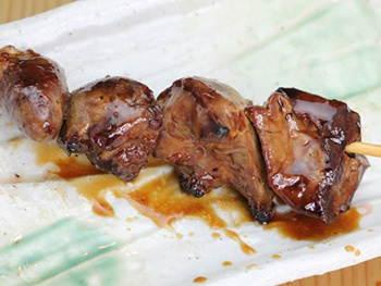 とりレバー(1本)<br>Grilled Chicken Liver