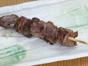 砂肝(1本)<br>Grilled Chicken Gizzard Skewered
