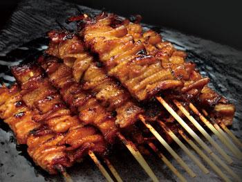 極皮串(1本)<br>PREMIUM TORIKAWA-Grilled Chicken Skin Skewers