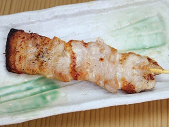 豚バラ(1本)<br>Pork belly Skewers
