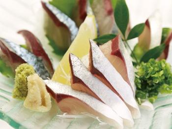 ひむか本サバのさば刺し<br>&#8220;Himuka Mackerel Sashimi A flavor you can only enjoy fresh&#8221;