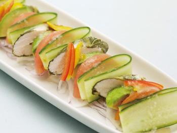 手作り鶏ハムサラダ<br>Handmade Chicken Ham Salad
