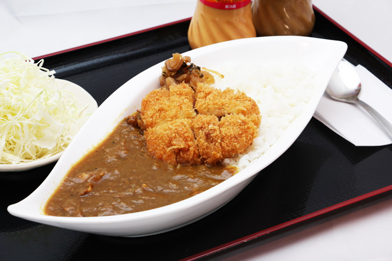 ロースかつカレー<br>Pork Loin Cutlet with Curry and Rice