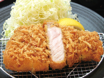 熟成 厚切りロースかつ膳【180g】<br>Aged Thick-Cut Pork Loin Cutlet Set