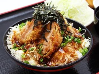 和風ソースかつ丼<br>Japanese Worcestershire Sauce Pork Cutlet Rice Bowl