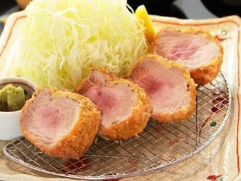 極太 棒ひれかつ膳<br>Extra Thick Log Pork Fillet Cutlet Set
