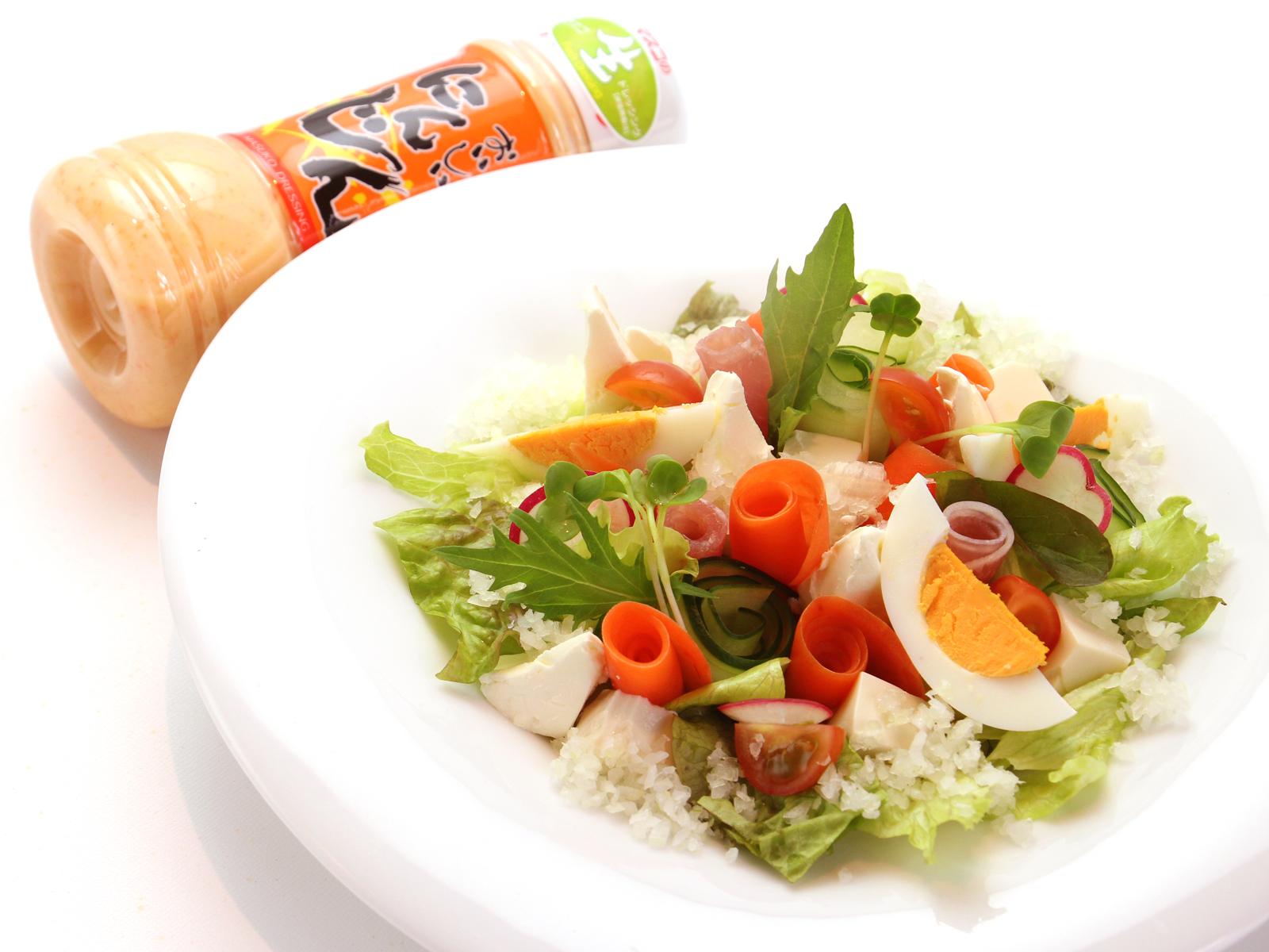 【素材×素材サラダ】にんじんサラダ