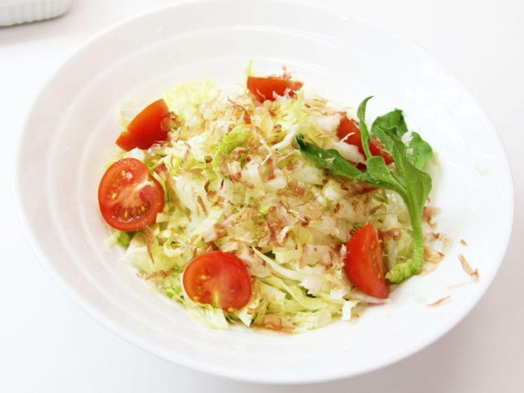 シャキシャキ白菜の簡単サラダ
