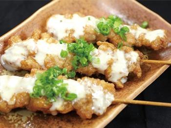 せせり南蛮串(1本)<br>Chicken Neck Namban Skewer