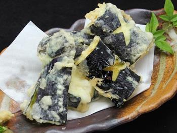 ナスの天ぷら ~天つゆ~<br>Eggplant Tempura
