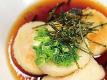 揚げだし豆腐<br>Deep-fried Tofu