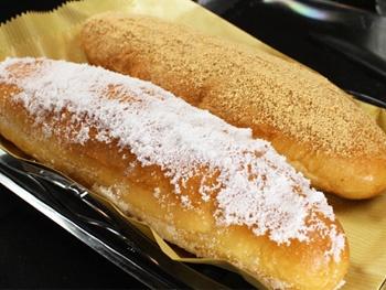 揚げパン(きなこ・砂糖)<br>Deep-fried Bread (Sweet Soybean Flour/sugar)