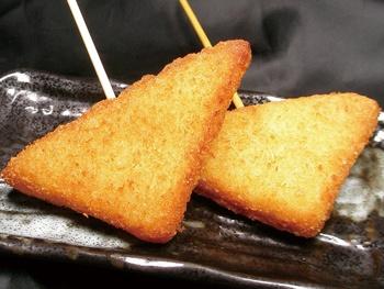 はんぺんチーズカツ(1本)<br> Fish Cake & Cheese Cutlet