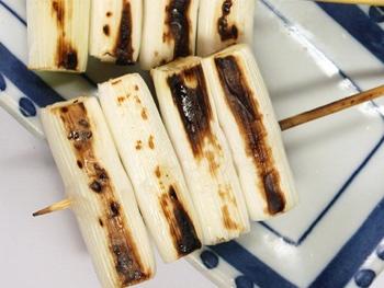 長ネギ串<br>Grilled Leek Skewers(long onion)