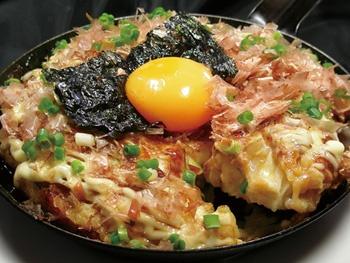 手作り山芋鉄板焼き<br>Japanese Yam Grilled on a Hot Plate