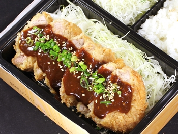 13.味噌ひれかつ弁当(ひれ3枚)