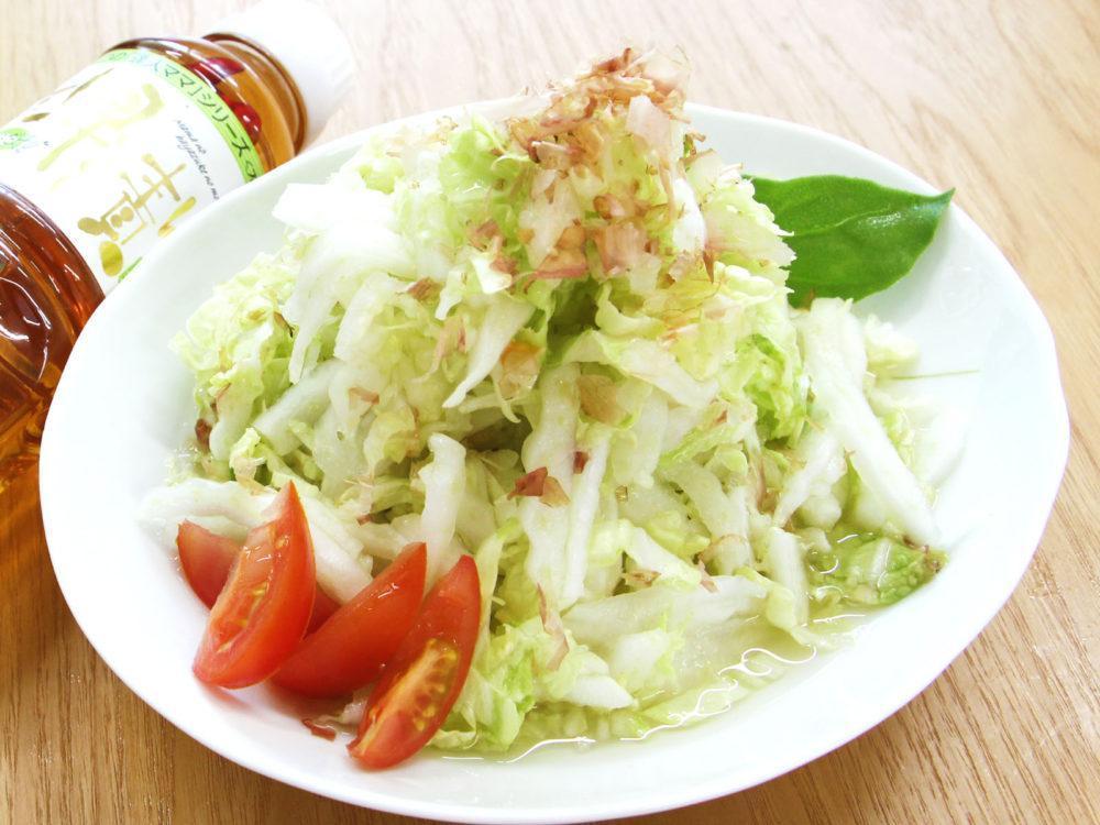 シャキシャキ白菜のさっぱりサラダ